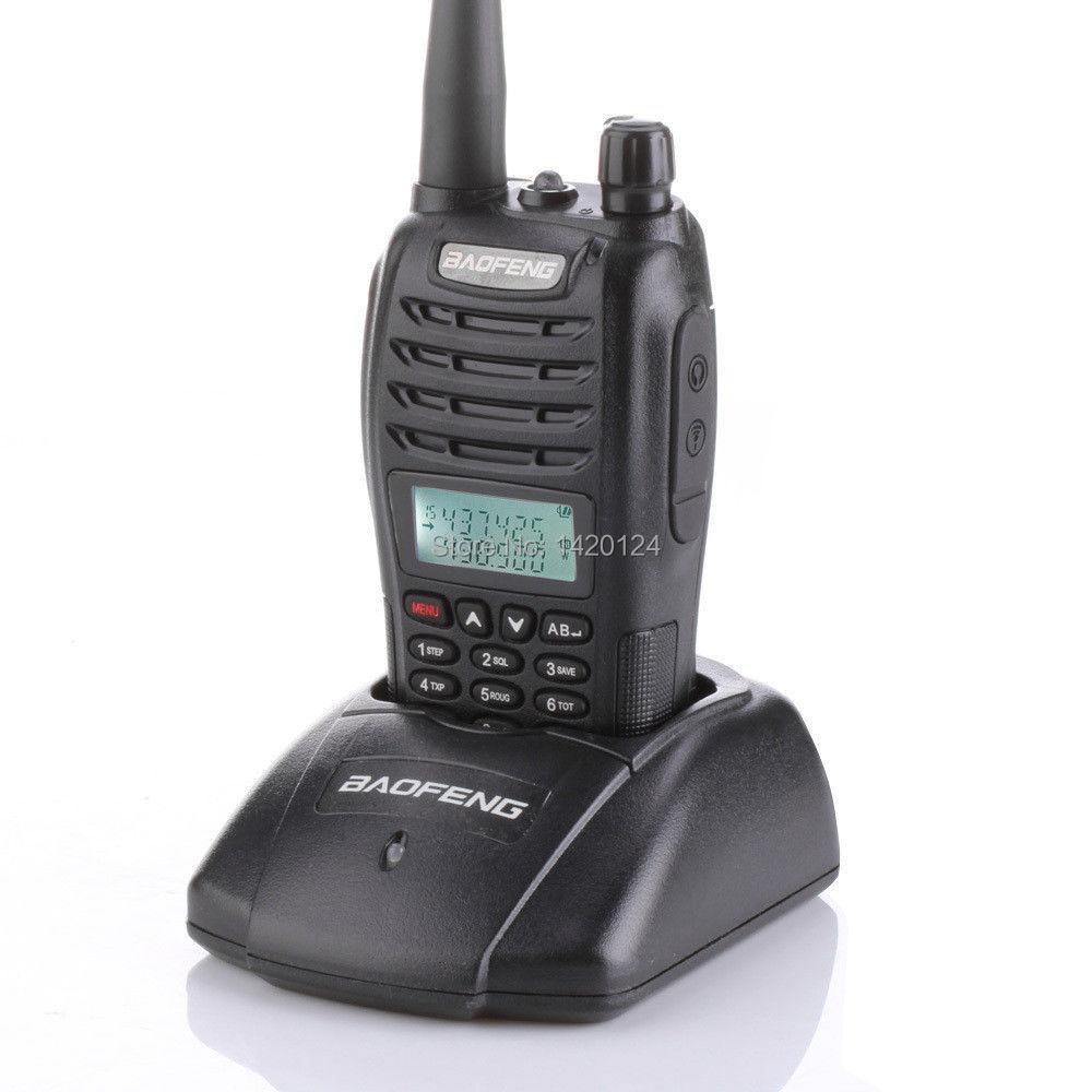 BaoFeng UV-B6 tvåvägsradio Dualband Walkie Talkie 136-174MHz & 400-470 MHz Ham Amatörradio VHF UHF + gratis hörlurar