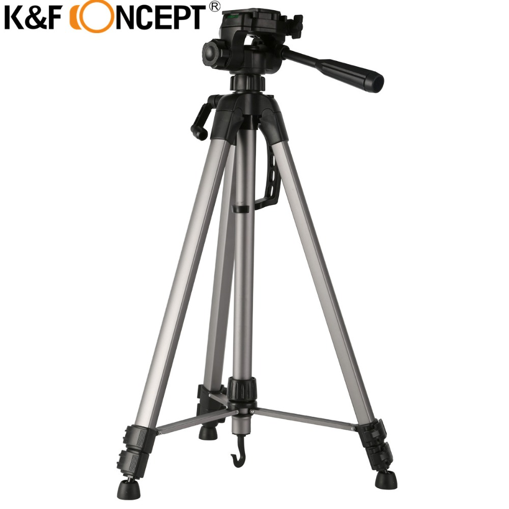 K&F CONCEPT Camera Tripod Lightweight 3 Sections Travel