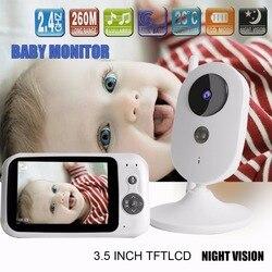303A 3.5 cal bezprzewodowy Monitor kolorowy dla dzieci niani aparat bezpieczeństwa noktowizor monitorowania chłopcy dziewczęta pokój dla dzieci