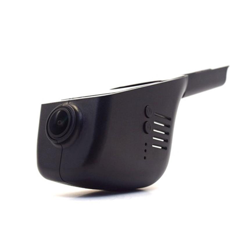 For VW Touareg 2011-2016 Car Dvr Mini Wifi Camera Driving Video Recorder Novatek 96658 Car Dash Cam Original Style Black Box for subaru wrx car driving video recorder dvr mini control app wifi camera black box registrator dash cam original style