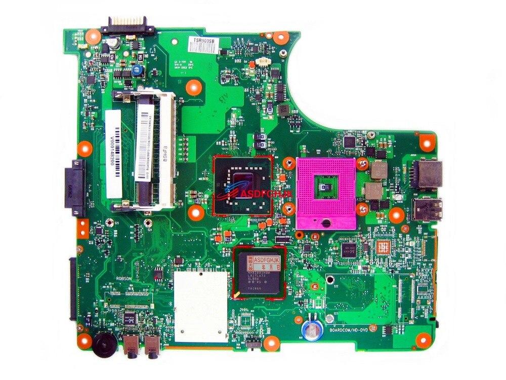 Материнская плата для ноутбука Toshiba Satellite Pro L300 L305 L350 L355 V000148200 6050A2170201 100% TESED OK