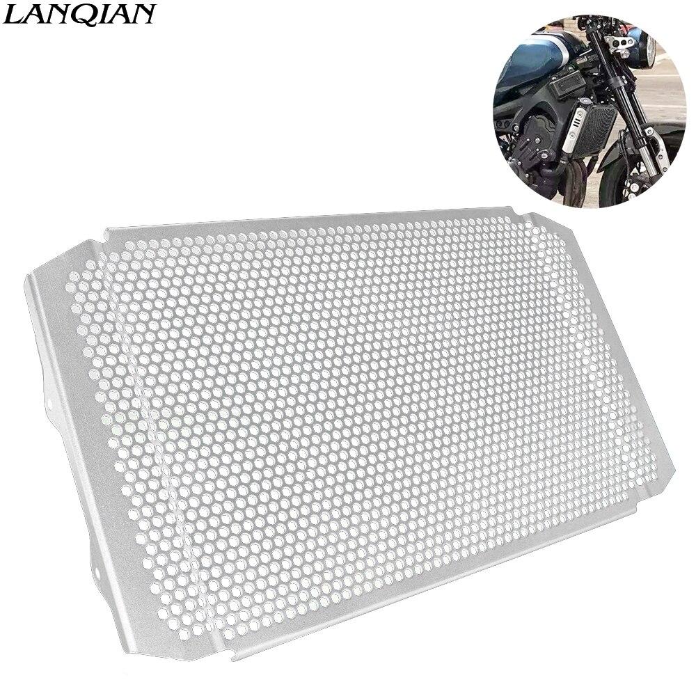 Pour Yamaha FZ-09 FZ 09 FZ09 2017 2018 2019 moto en alliage d'aluminium protecteur de radiateur côté Grille Grille huile refroidisseur couvercle