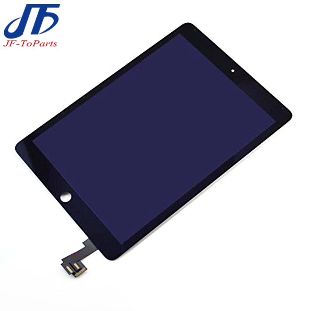 все цены на New 100% Tested Replacement For ipad 6 Lcd Display with Touch Screen Digitizer panel for ipad6 air 2 A1567 A1566 with sticker онлайн