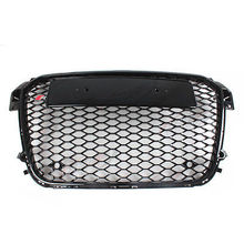 A1 RS1 Stijl Zwart Honingraat Mesh Grill Grille Voor Audi A1 2010-2015 Auto Styling(China)
