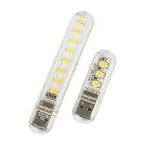 Portable 5V Mini LED Lamp SMD 5730 USB LED Light Lampada LED Night Light outdoor camping lighting For Power Bank Notebook PC