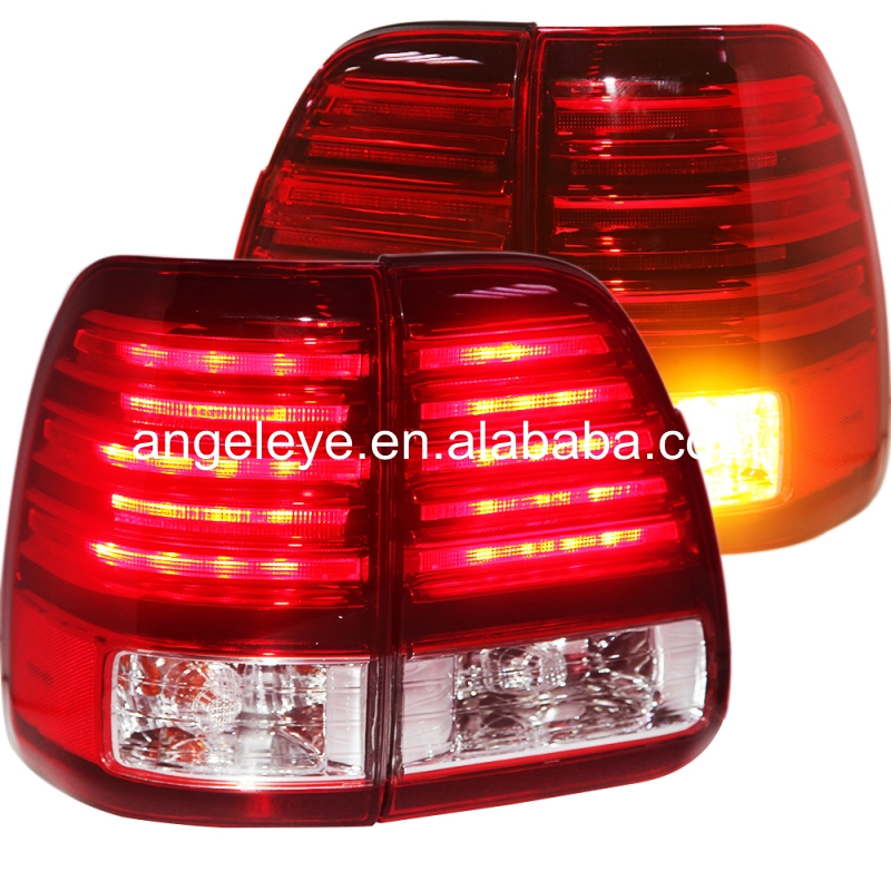 2003-2007 year For Lexus LX470 LED Tail light  Rearlights Red White LF