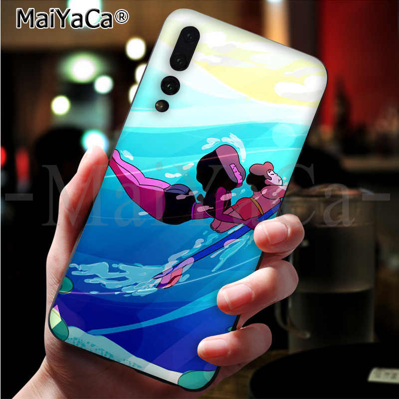 MaiYaCa de dibujos animados de Steven universo exquisita funda del teléfono para Huawei P9 10 20 pro mate9 10 lite honor 10 view10 caso