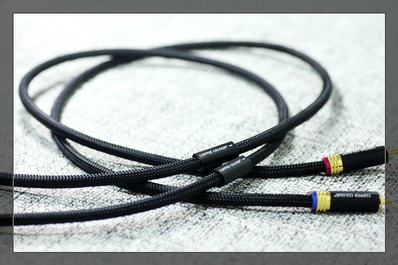 っEnvío libre par cobre color Whisper HiFi cable de interconexión ...