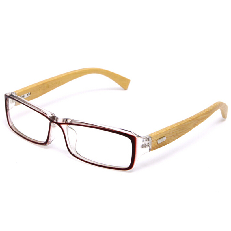 Women Or Men\'s Wooden Glasses Frame Eyewear Handmade Bamboo Frame ...