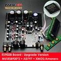 Versión mejorada ES9028PRO + MUSES8920 * 2 + AD797 HiFi DAC tablero del decodificador Montado W/iis Amanero y XMOS Tarjeta USB