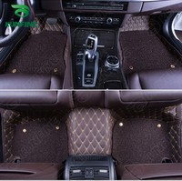 TopQuality 3D Car Floormat For Toyota RAV4 Foot Mat Car Footpad With One Layer Thermosol Coil