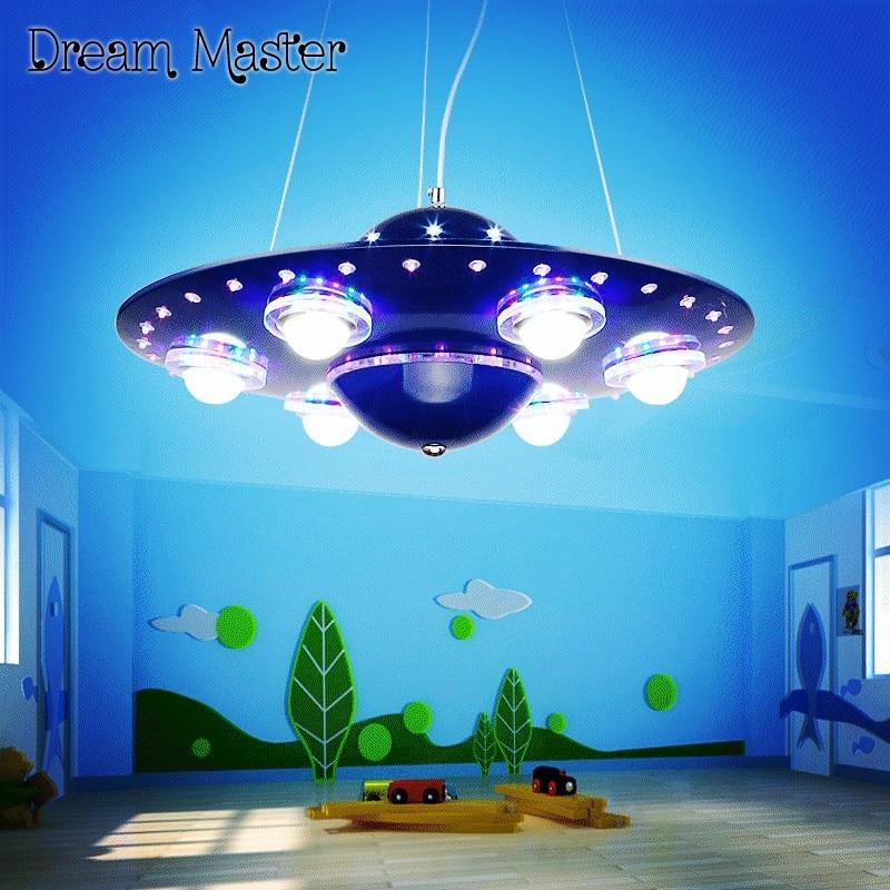 Children's room chandelier, creative cartoon, flying ...