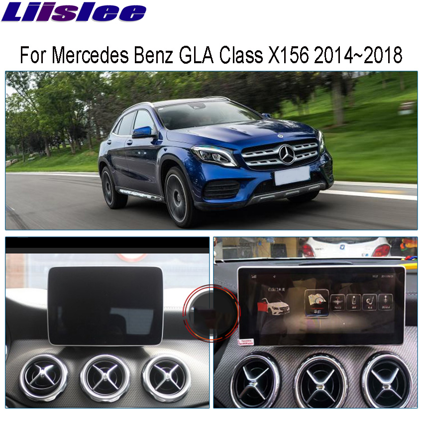 Liislee 10.25 Android For Mercedes Benz MB GLA Class X156 2014~2018 GPS Navigation radio stereo dash multimedia player