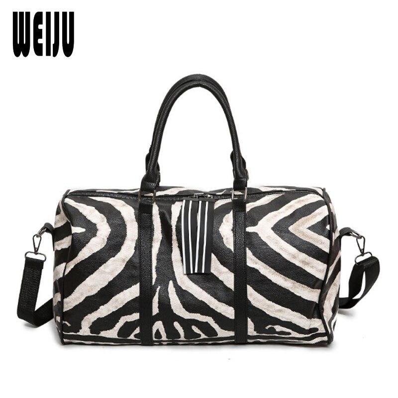 Weiju Европейская мода Дорожная сумка Для женщин Новинка 2017 года Курьерские сумки Для женщин сумка большой емкости Дорожные сумки