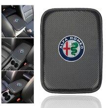 1 шт. автомобильный консольный подлокотник с ящиком, защитный коврик для alfa romeo 159 147 156 giulietta 147 159 mito, автомобильные аксессуары