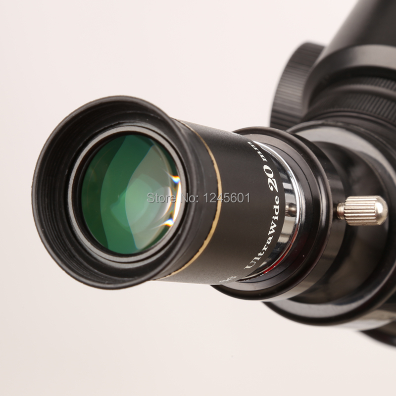66 degrees Ultra Wide 20mm Eyepiece outer lens Fully Multi-Coated for Astronomical Telescope  цены