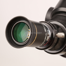 Sale 66 degrees Ultra Wide 20mm Eyepiece outer lens Fully Multi-Coated for Astronomical Telescope