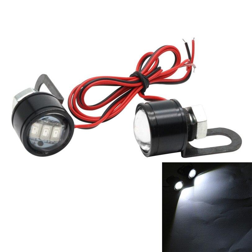 2017 luces de la lámpara modificado accesorios motocicleta águila eyedled led es