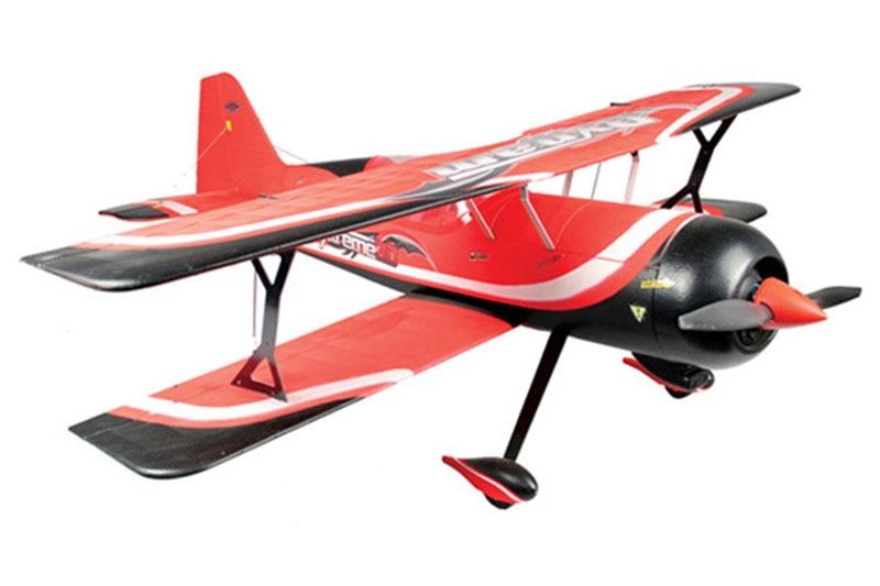 все цены на Dynam Red 1130MM Pitts Model 12 RC PNP/ARF Propeller Plane W/ Motor ESC Servos онлайн