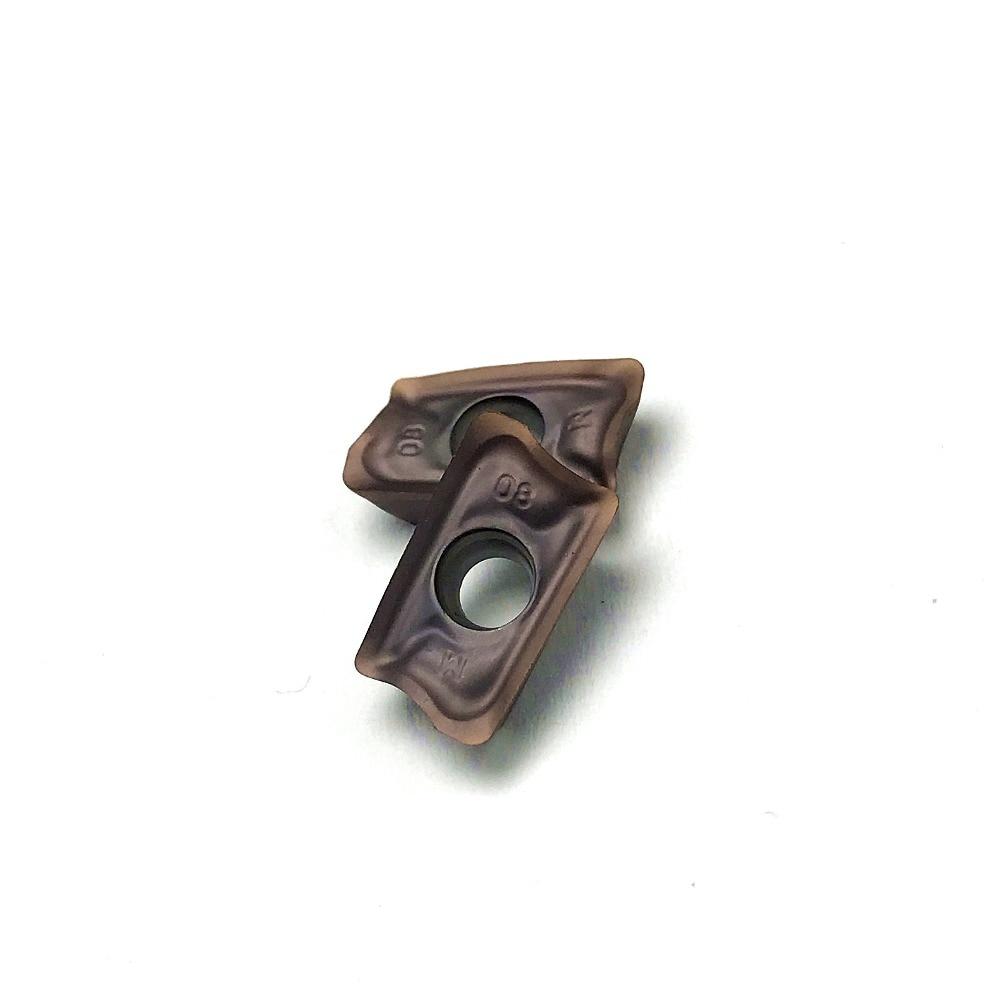 Carboneto de inserção aomt123608 peer m vp15tf alta qualidade aomt 123608 cnc rosto moagem inserção carboneto ferramenta torneamento