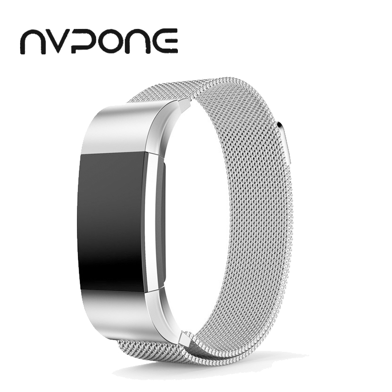 Milanese Magnetic Stainless Steel Bracelet Replacement Strap For fitbit charge 2 band Bracelet Wrist Strap for Fitbit Charge 2
