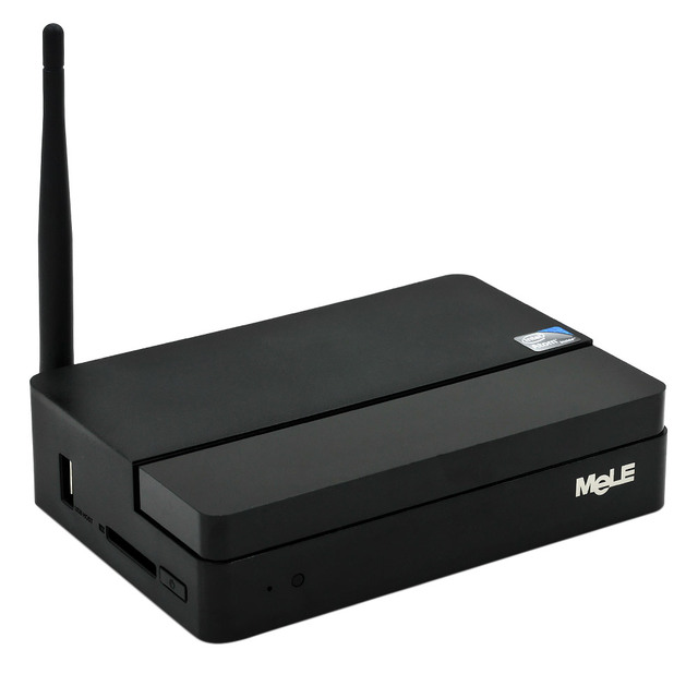 MeLE F10 + Windows 10 Mini PC MeLE PCG03 Intel Z3735F 2GB DDR3 32GB eMMC Desktop HDMI VGA LAN BT WiFi