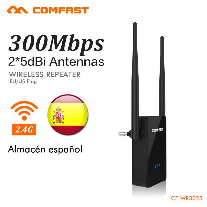 COMFAST CF-Senza Fili Wifi Del Ripetitore 300 Mbps 802.11n/b/g Rete Wifi Extender Amplificatore di Segnale Ripetitore Del Segnale Repetidor CF-WR302S