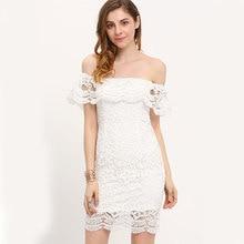 MUXU sexy white lace dress sukienka patchwork vestidos kleider fashion summer clothes for women vestido de renda blanco