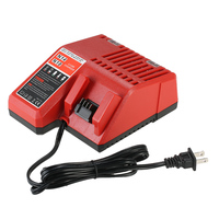 18V Power Tool Lithium Battery Charger Replacement For Milwaukee M18 Power Tool Accessories US EU Plug