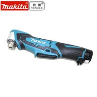 Japan's MAKITA rechargeable electric drill to drill angle DA330DWE elbow angle drill 10.8V double lithium battery