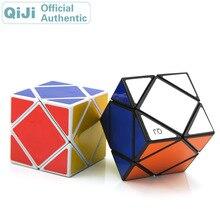 QiJi Skewbed Magic Cube QJ Skewed Diamond Cubo Magico Professional Neo Speed Cube Puzzle Antistress Fidget Toys For Children 0988 qj