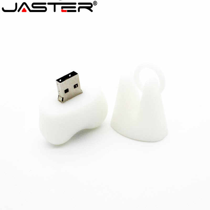 JASTER Dentist USB Flash Drive delicacy hot sale 4GB/8GB/16GB/32GB/64GB Wholesale Gadget Fashion special Teeth USB white color