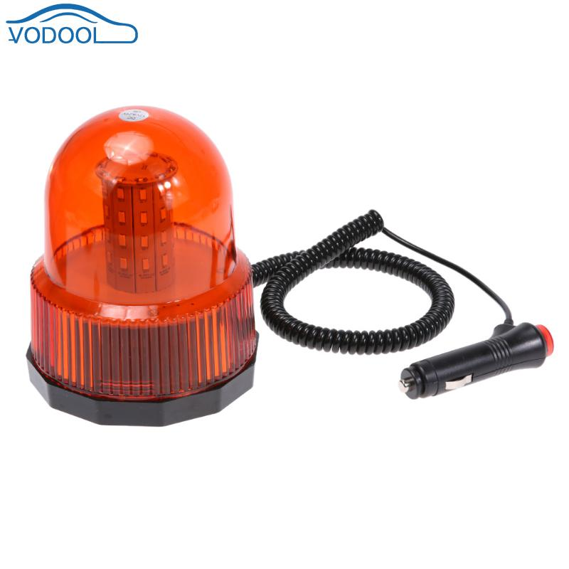 DC 12V Car LED Lamp Ceiling Roof Lights Flash Strobe Emergency Light 360 degree Flashing Warning Hazard Lighting Lamp
