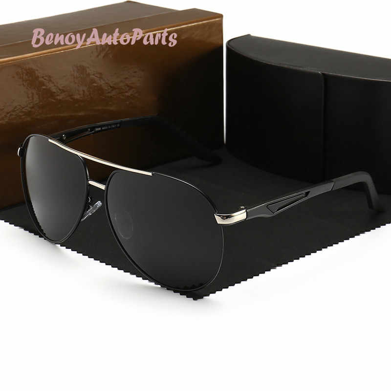 2d7862a6aa Para BMW Serie gafas de sol 2019 polarizadas gafas de sol de conducción de  los hombres
