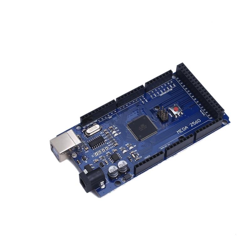 2014 New edition MEGA2560 Mega 2560 R3 REV3 ATmega2560 16AU CH340G Board ON USB Cable compatible