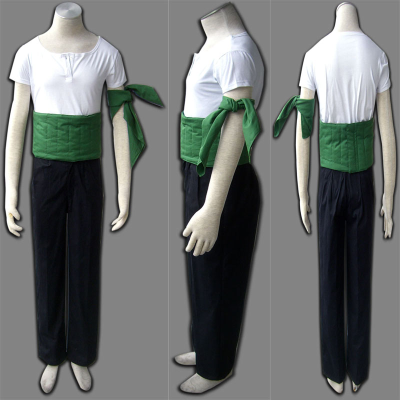 High-quality One Piece Roronoa Zoro Cosplay Costumes Free Shipping Cartoon Character Costumes