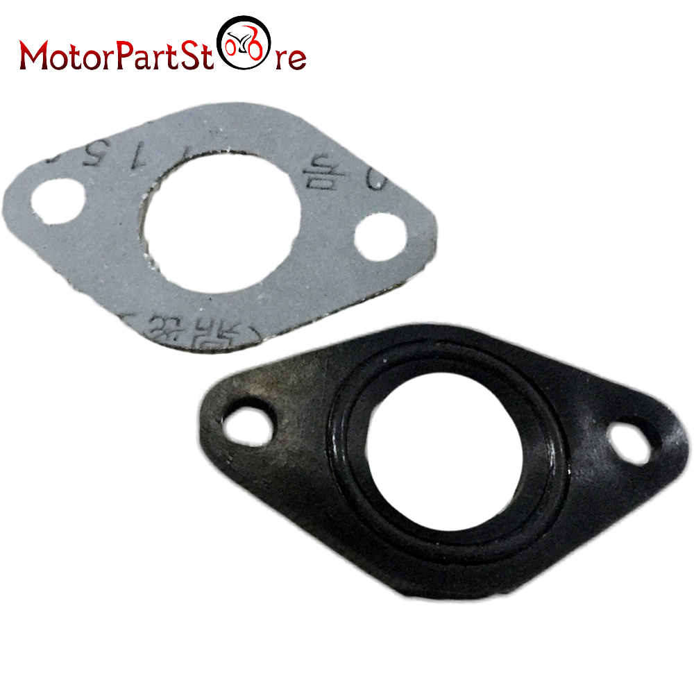 139QMB 50cc GY6 Inlet Manifold Spacer with /'O/' Ring