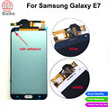 Original for Samsung Galaxy E7 E700 Lcd Display Screen + Digitizer Touch Screen Assembly Blue / White