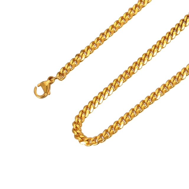 Fine Jewelry Stainless Steel Chain Necklace rM1jW
