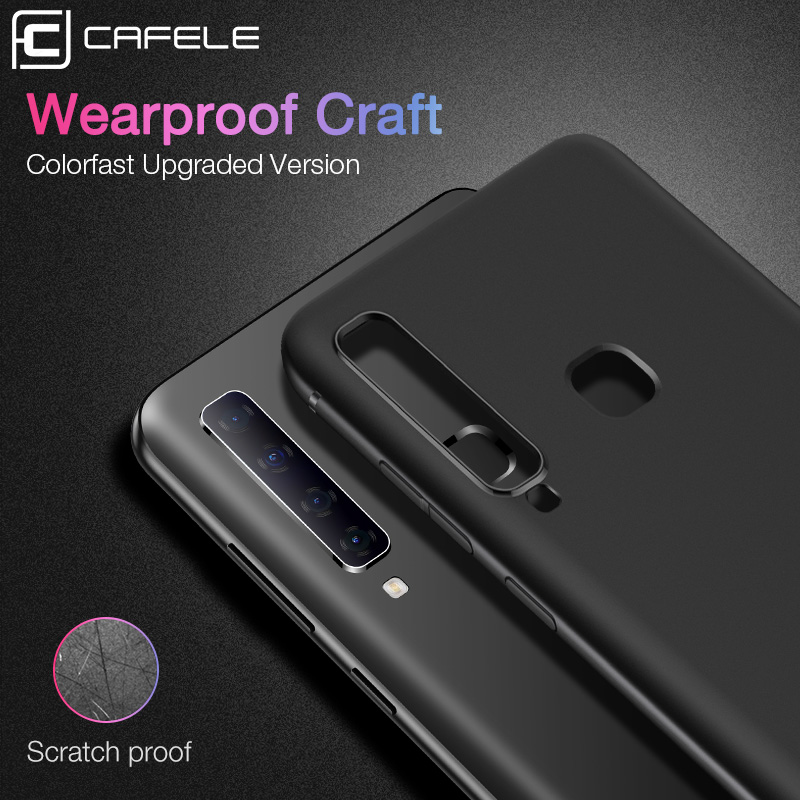 Cafele Soft TPU Phone Case for Samsung Galaxy A9s Matte Ultra thin Case Cover for Samsung Galaxy A9s