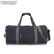 VEEVANV Vintage Leinwand männer Reisetaschen Handgepäck Taschen Frauen Sporttasche Reise Tote Handtasche Große Schultaschen Crossbody