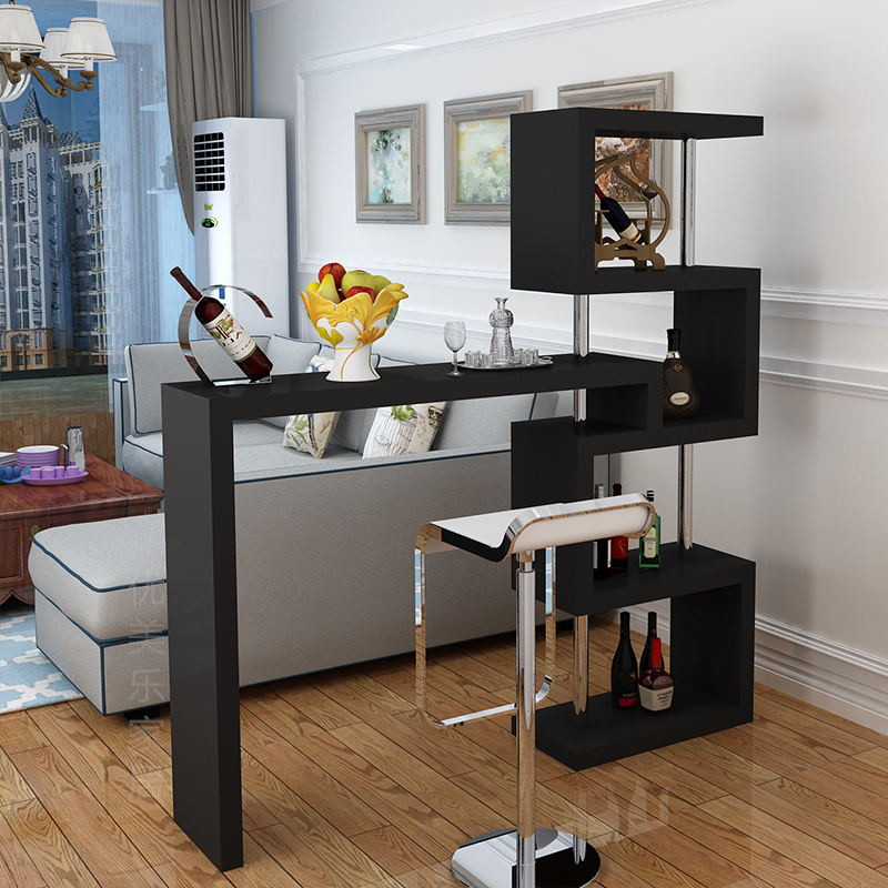 Modern Minimalist Bar Table Home Living