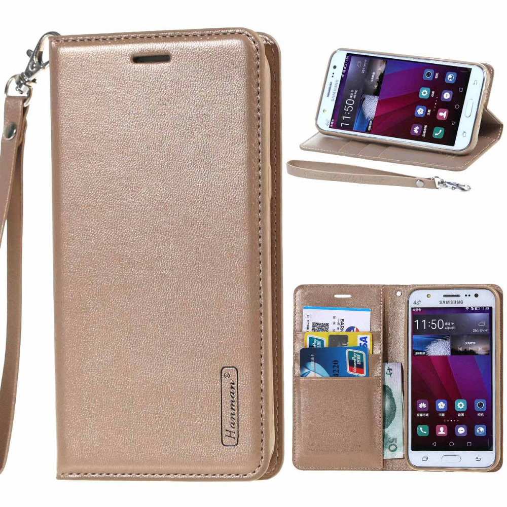 Galaxy a5 2017 case luxury leather wallet flip stand cover for Housse samsung galaxy