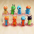 Slugterra PVC Action Figures Dolls 8pcs/lot Children Toys Christmas Gifts 4CM Free Shipping