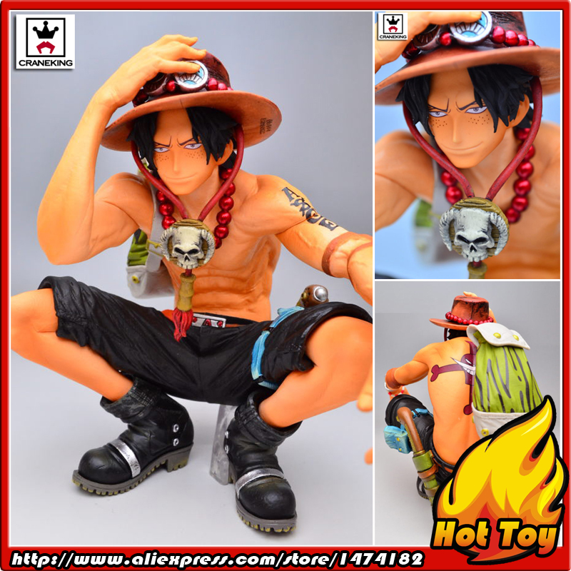 100% Original Banpresto KING OF ARTIST Collection Figure - The Portgas D. Ace from ONE PIECE