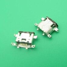 100 Uds para Motorola Moto X XT1060 XT1058 XT1056 XT1053 XT1080 G4 Plus conector de carga micro USB conector de enchufe de carga
