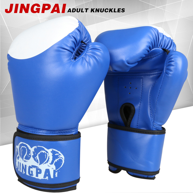 830bc67ea 2016 New Male Female 10 oz PU Muay Thai Boxing Gloves Sanda Women Men  Fighting Sandbag Training luvas boxeo Guantes