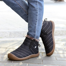 VTOTA Winter Boots Flat Women Snow Boots Botines Mujer Platforma Flat Shoes zapatos de mujer Warm Shoes botas mujer invierno nemaone women winter black pink snow boots thickened zapatos de mujer martin boots a rode flat low zipper middle tube boots
