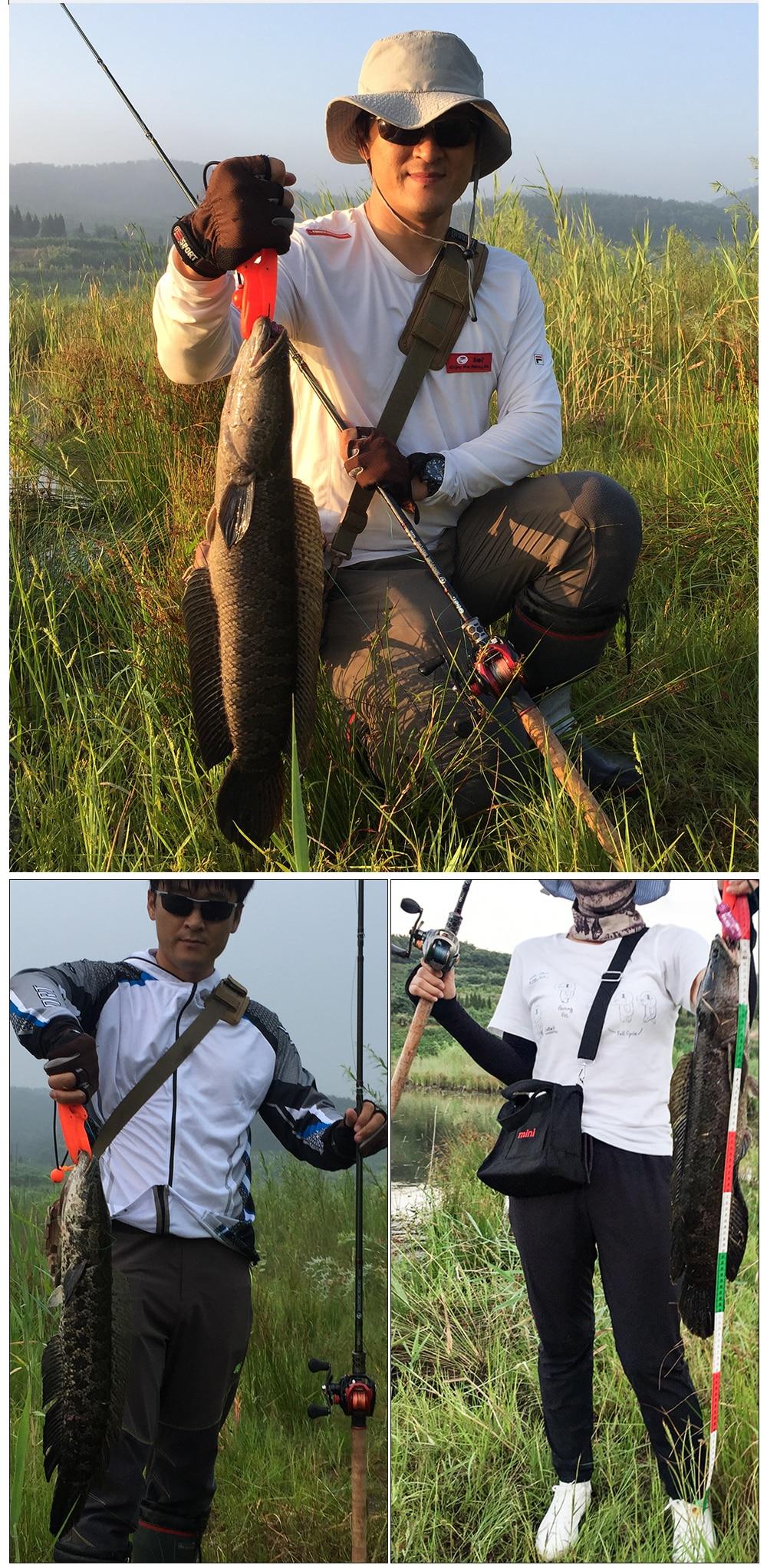 pesca catfish snakehead super duro 2.38m atrair
