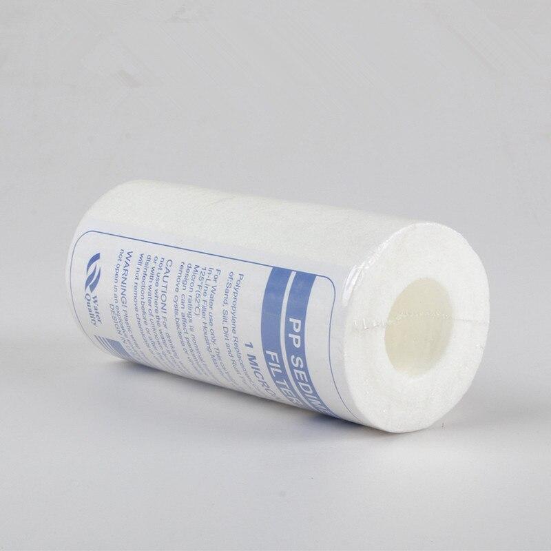 где купить 5 inch x 2.5inch 1 Micron Reverse Osmosis Water System Filter PP Sediment Filter Cartridge по лучшей цене